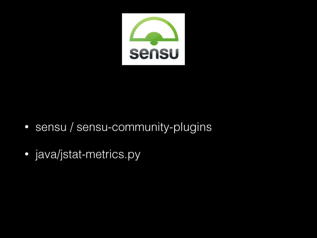 • sensu / sensu-community-plugins • java/jstat-...