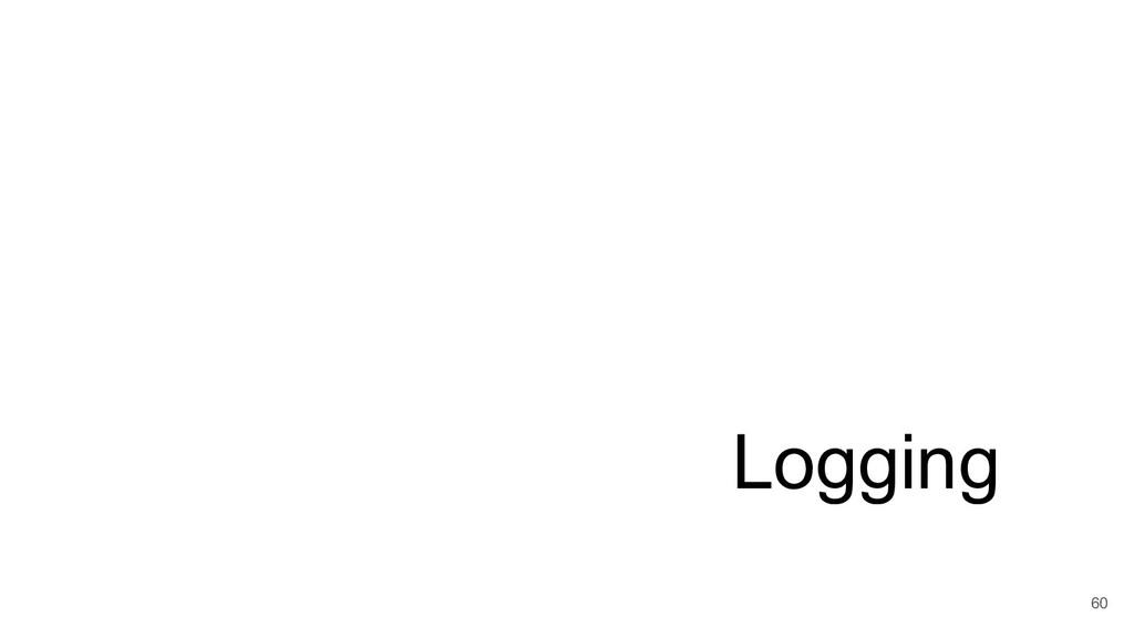 Logging 60