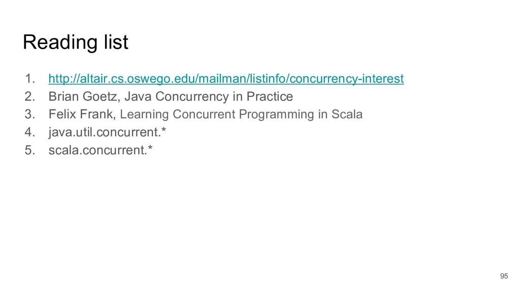 Reading list 1. http://altair.cs.oswego.edu/mai...