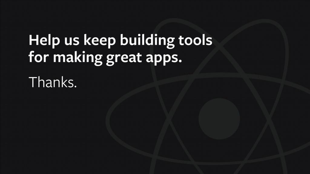 Help us keep building tools for making great a...