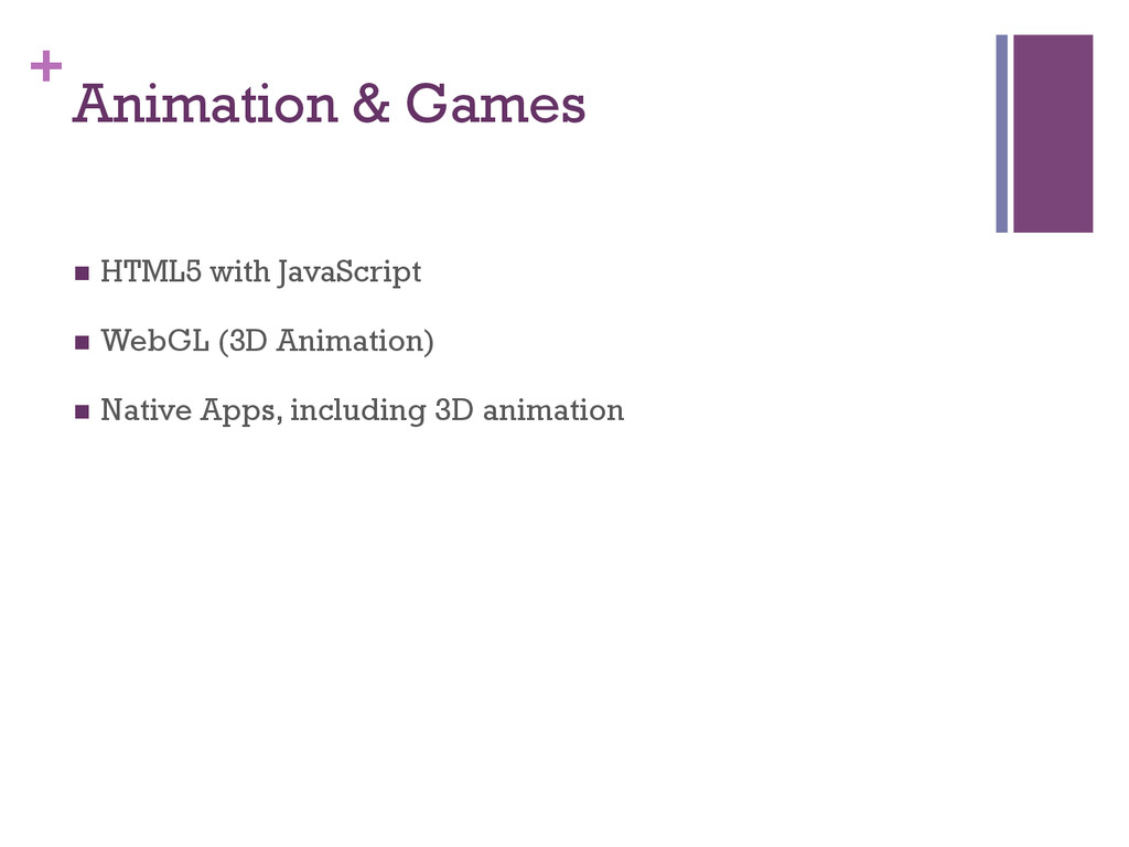 + Animation & Games n HTML5 with JavaScript n...