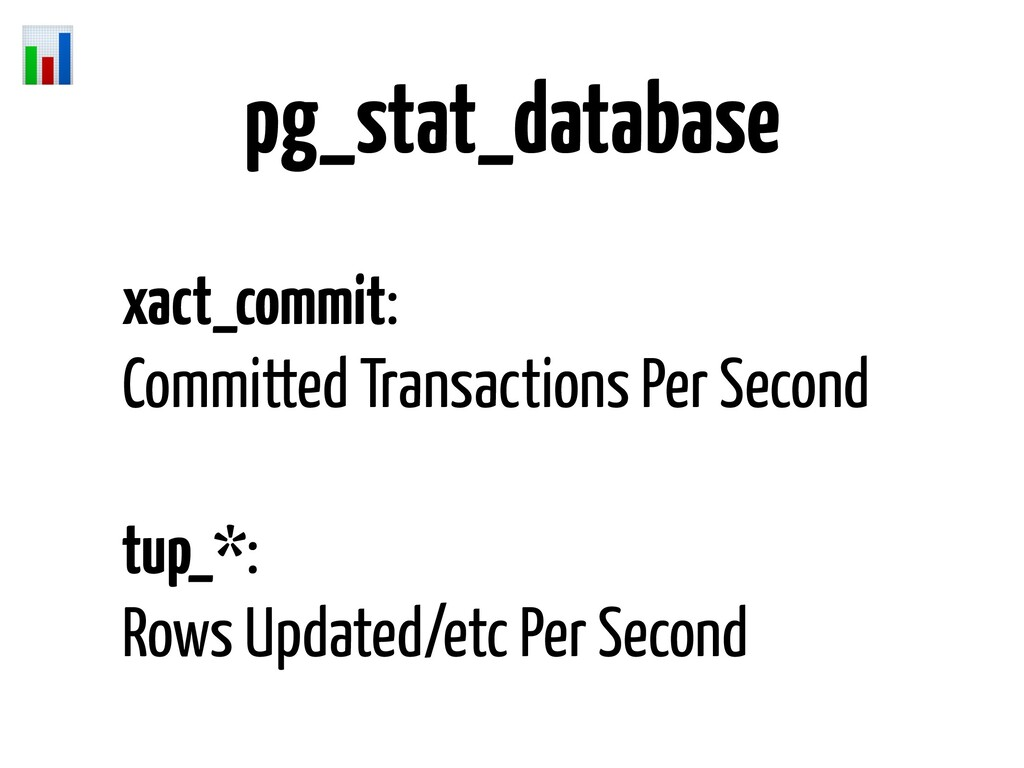 pg_stat_database xact_commit: Committed Transac...