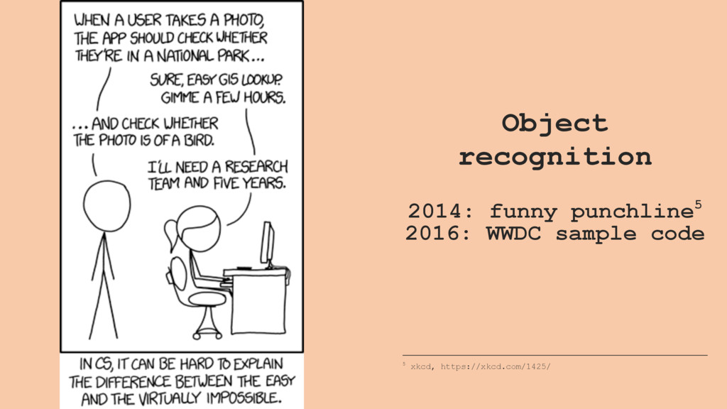 Object recognition 2014: funny punchline5 2016:...