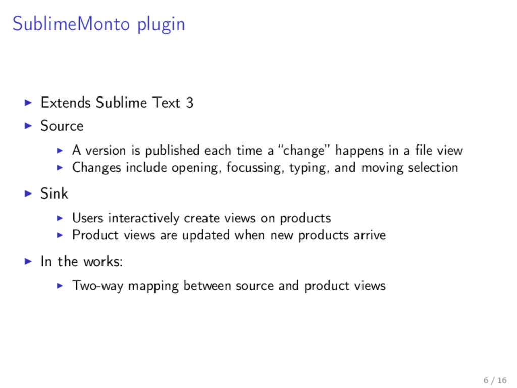 SublimeMonto plugin Extends Sublime Text 3 Sour...