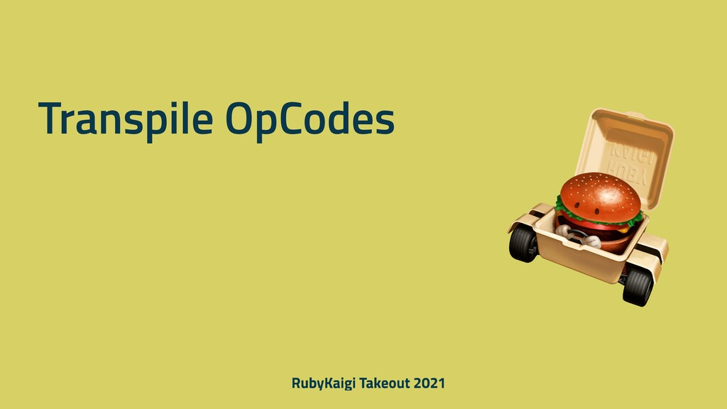 Transpile OpCodes