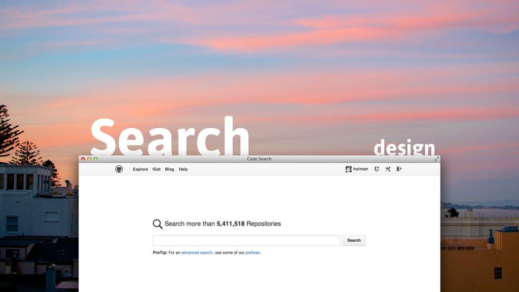 design Search