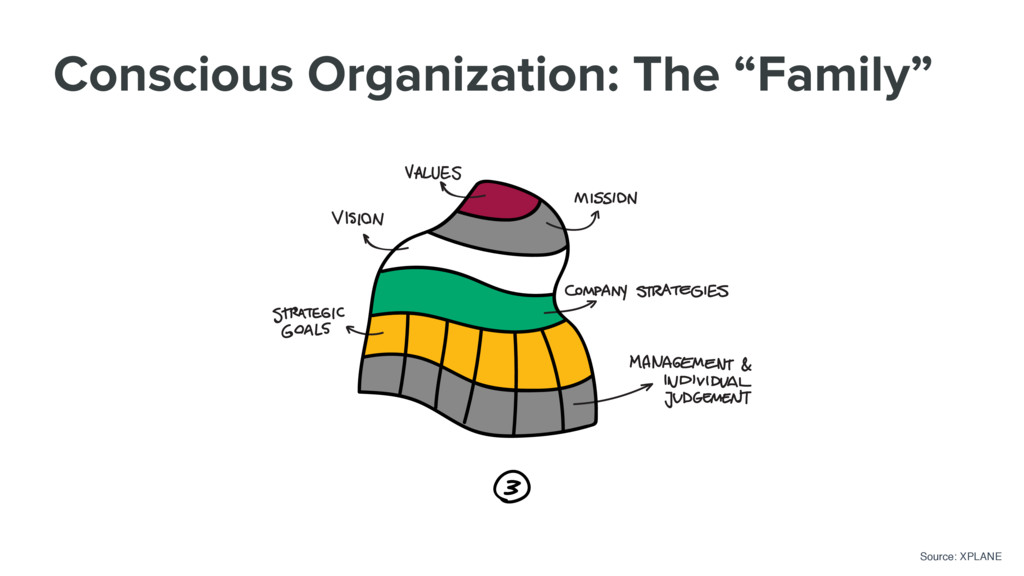 """Conscious Organization: The """"Family"""" Source: XP..."""