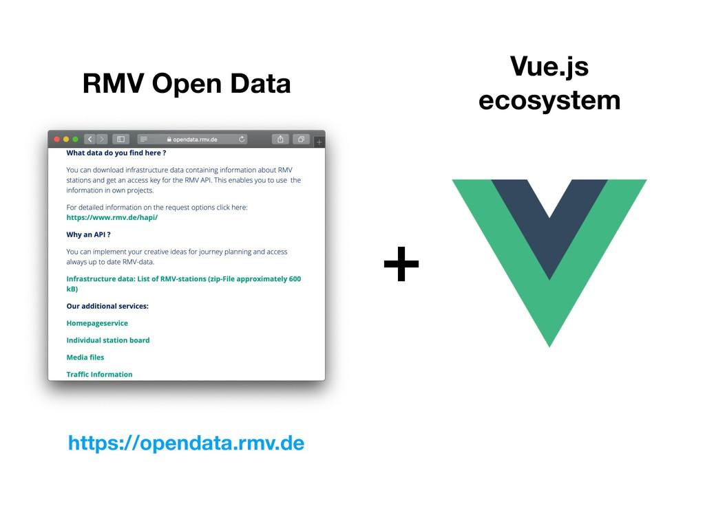 RMV Open Data https://opendata.rmv.de Vue.js ec...