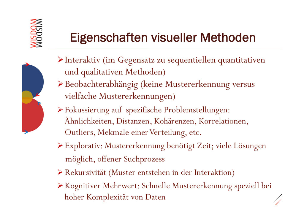 "0.29""14 Eigenschaften visueller Methoden ØInt..."