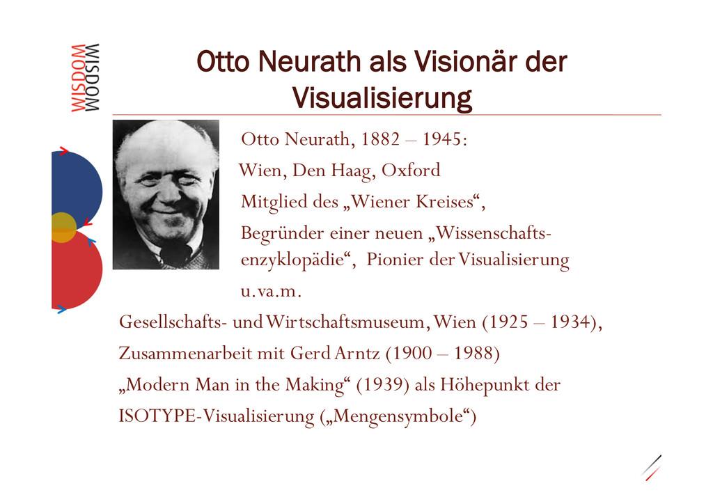 """0.29""""3 Otto Neurath als Visionär der Visualisie..."""