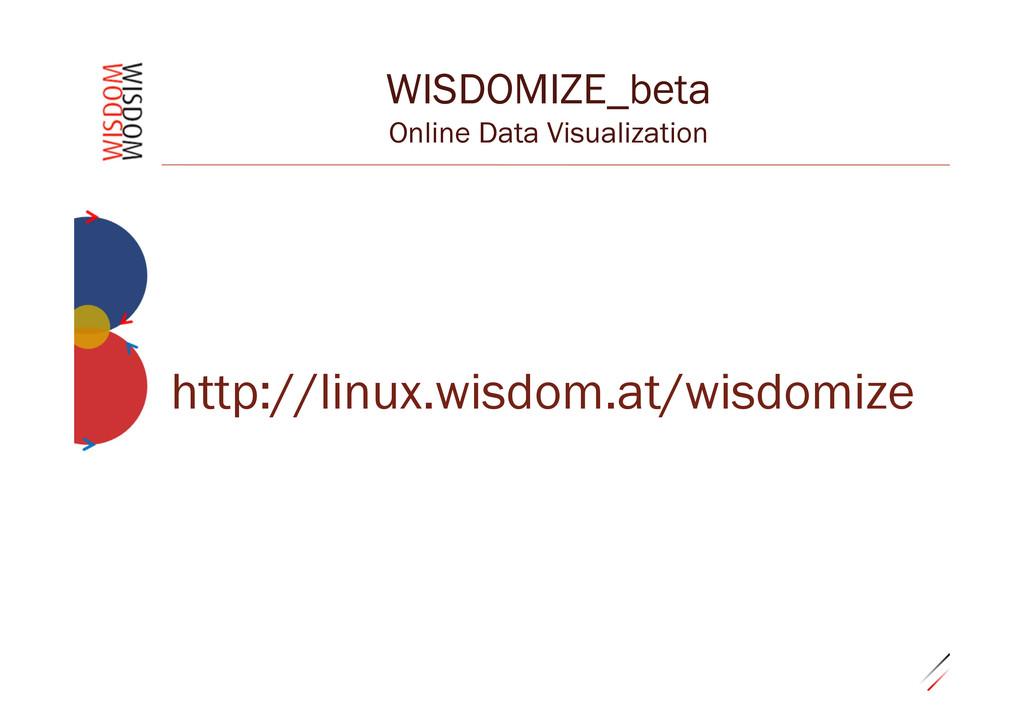 """0.29""""28 WISDOMIZE_beta Online Data Visualizatio..."""