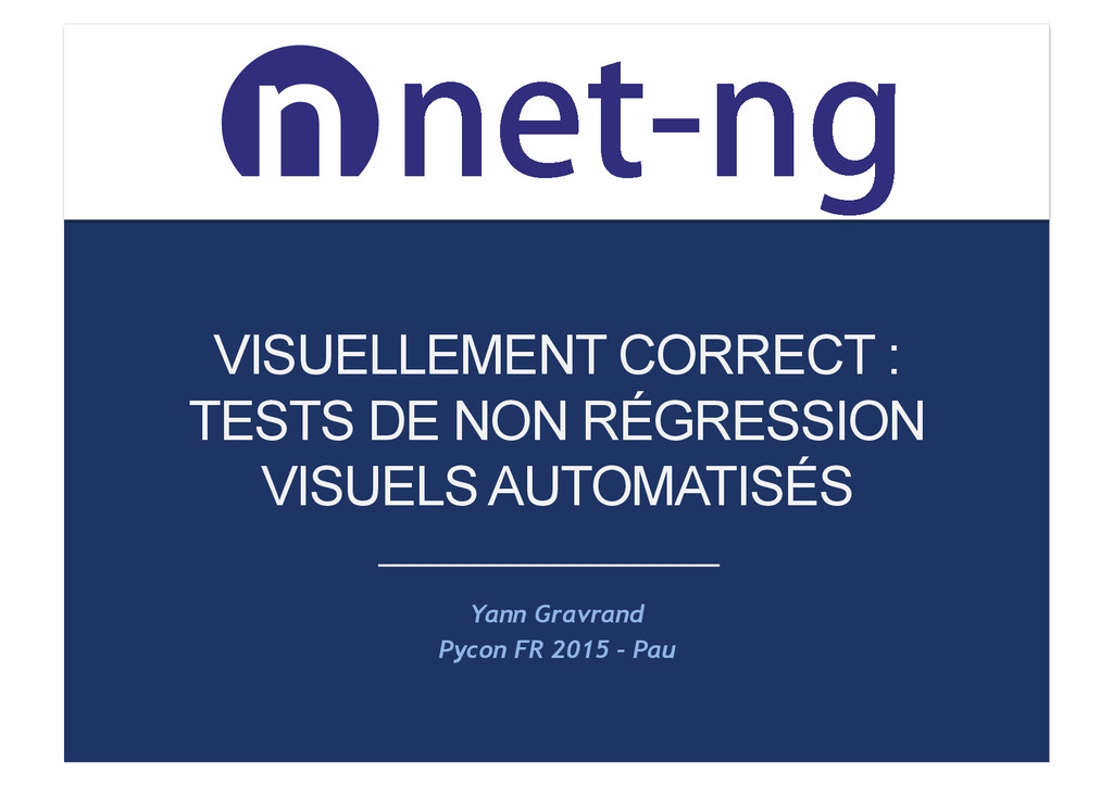 OFUOH OFUOH VISUELLEMENT CORRECT : TESTS DE N...