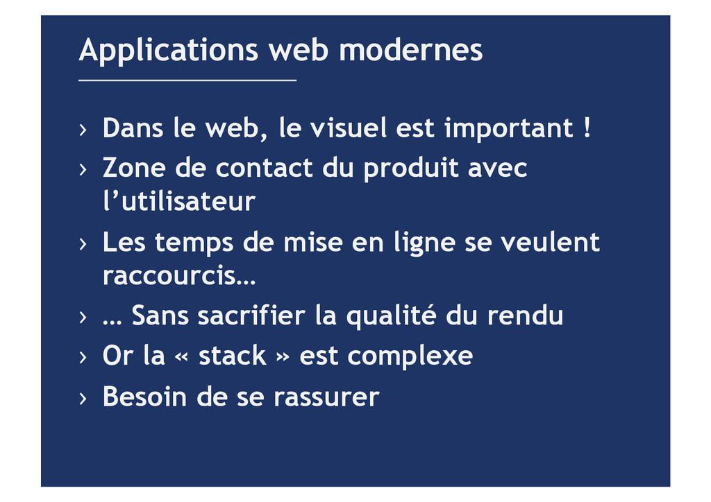Applications web modernes › Dans le web, le vi...