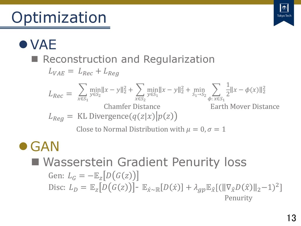 13 Tokyo Tech Optimization lVAE n Reconstructio...