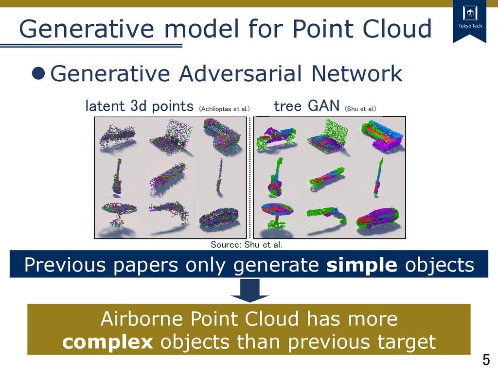 5 Tokyo Tech Generative model for Point Cloud l...