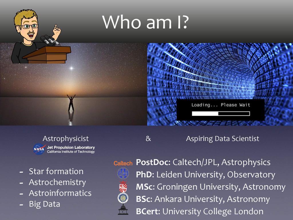 Who am I?         ...