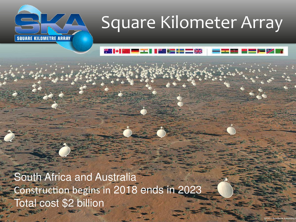 Square Kilometer Array South Africa and A...