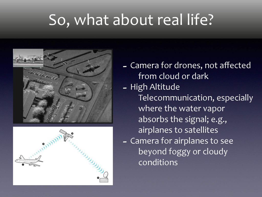 So, what about real life? -‐ Camer...
