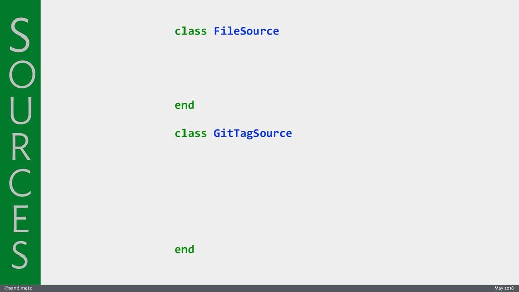 @sandimetz May 2018 class FileSource end class ...