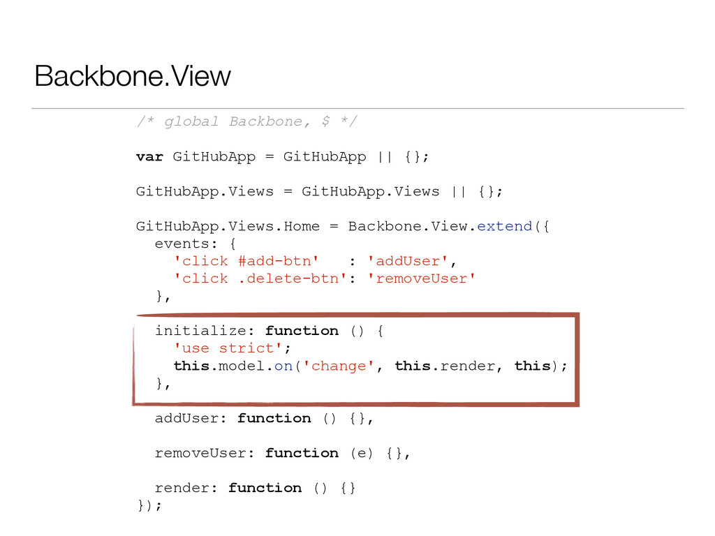 Backbone.View /* global Backbone, $ */ var GitH...