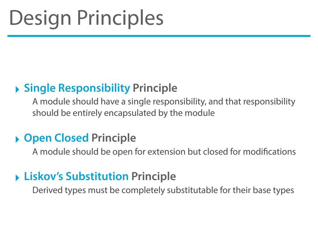 Design Principles ‣ Single Responsibility Princ...