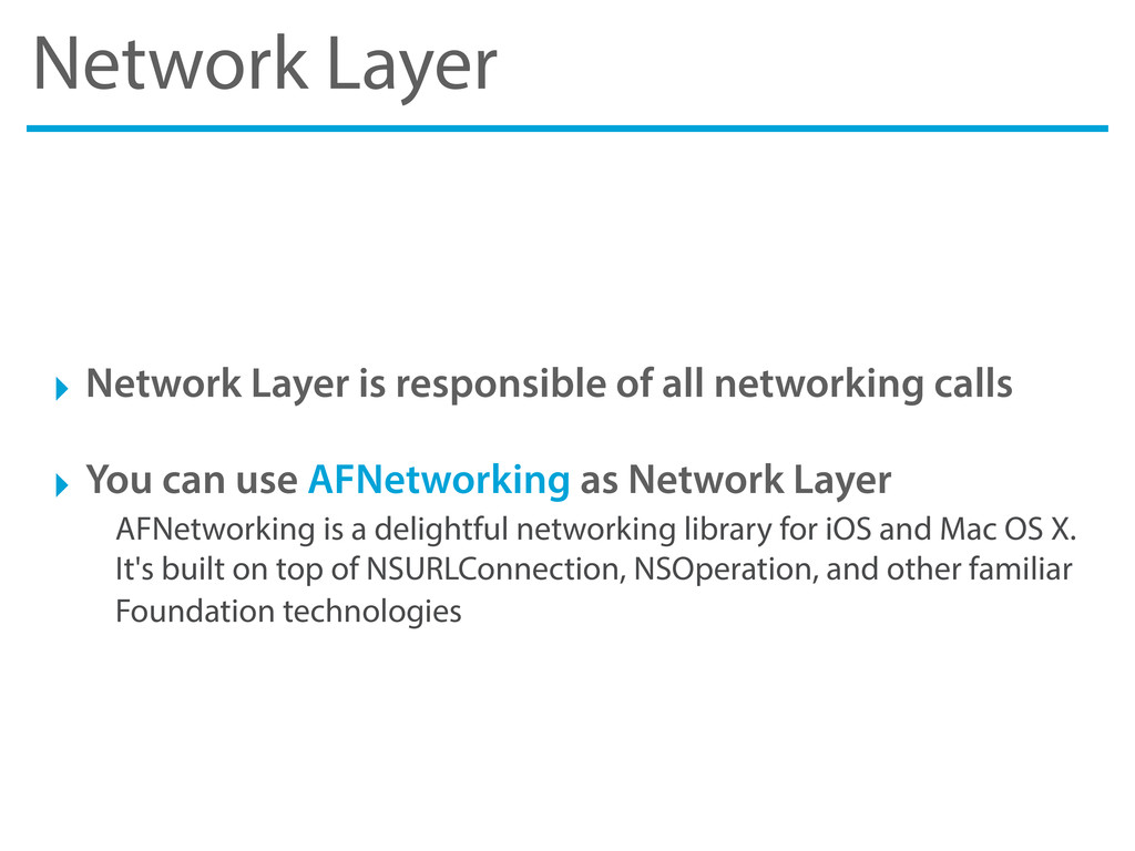 Network Layer ‣ Network Layer is responsible of...