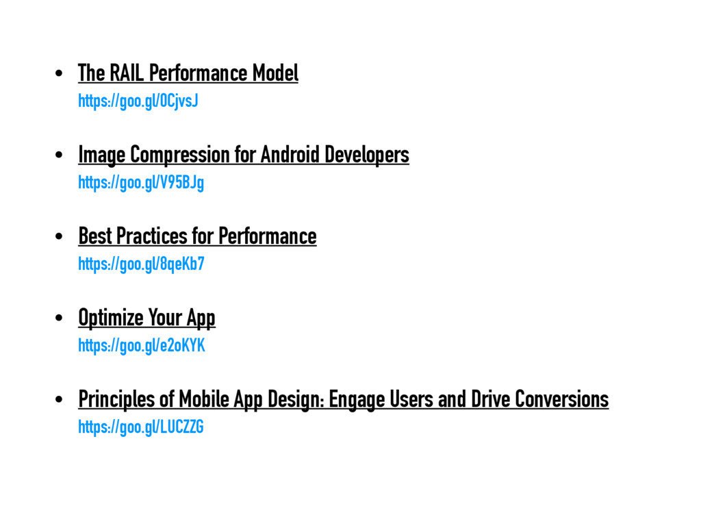 • The RAIL Performance Model https://goo.gl/0C...