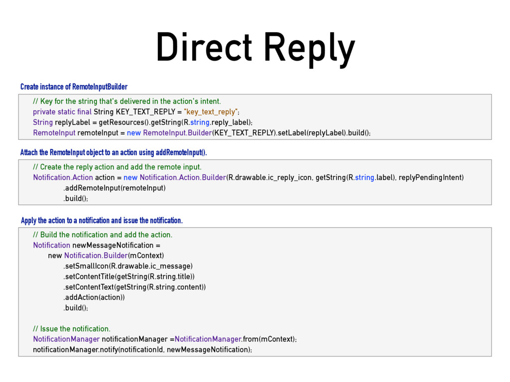 Direct Reply // Key for the string that's deliv...