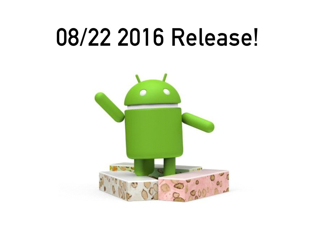 08/22 2016 Release!