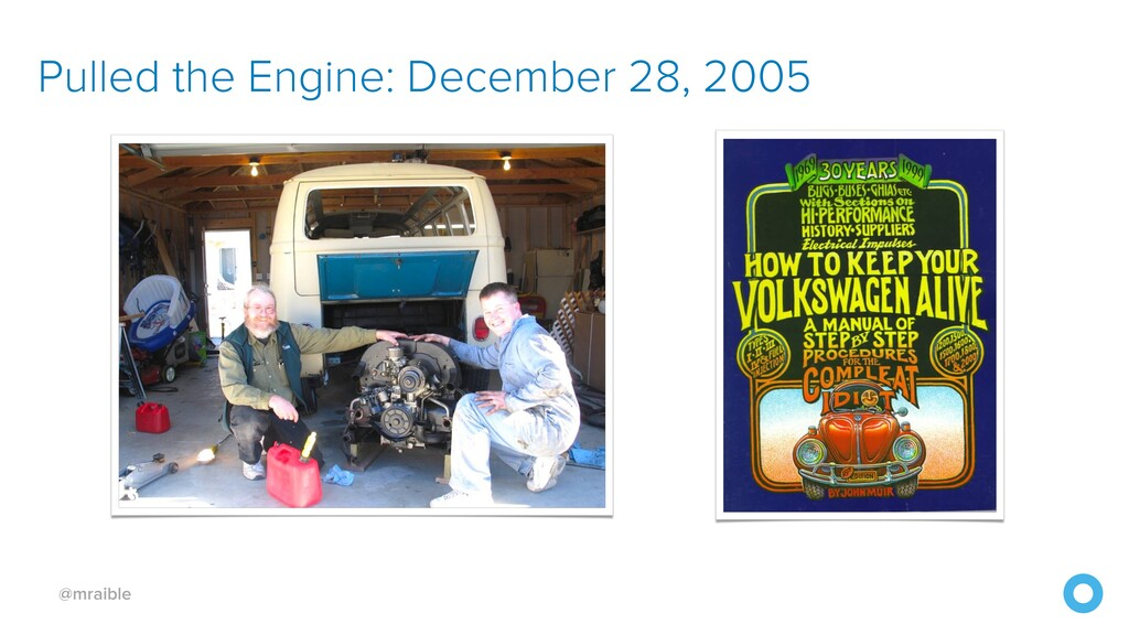 @mraible Pulled the Engine: December 28, 2005
