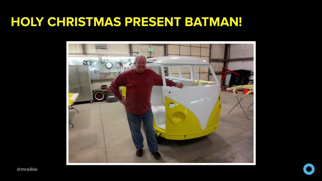 @mraible HOLY CHRISTMAS PRESENT BATMAN!