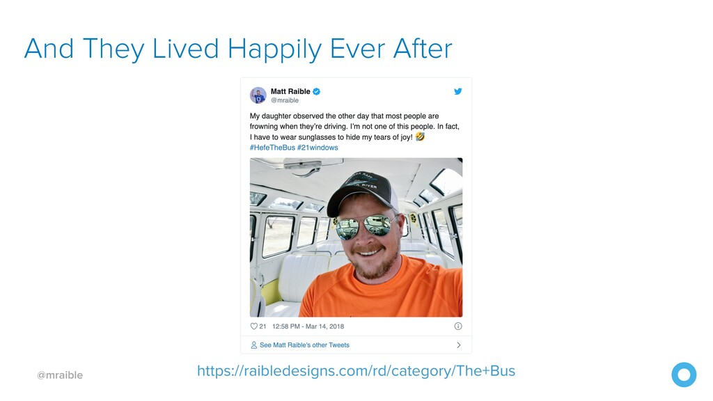 @mraible And They Lived Happily Ever After http...