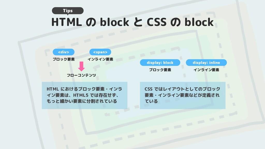 HTML の block と CSS の block HTML におけるブロック要素・インラ ...