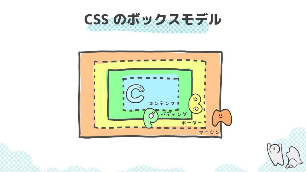 CSS のボックスモデル