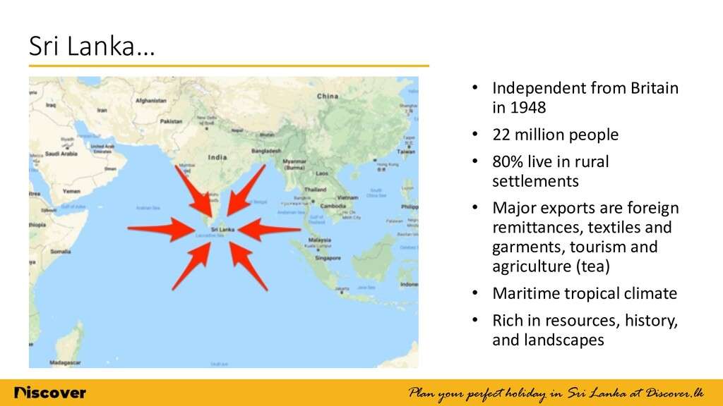 Sri Lanka… Plan your perfect holiday in Sri Lan...