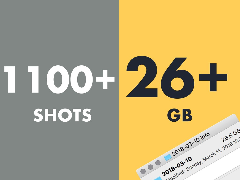 1100+ 26+ SHOTS GB