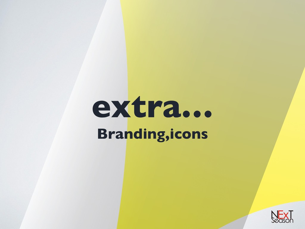 extra… Branding,icons