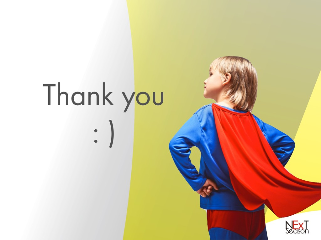 Thank youɹ : )