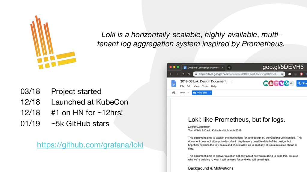 Loki is a horizontally-scalable, highly-availab...