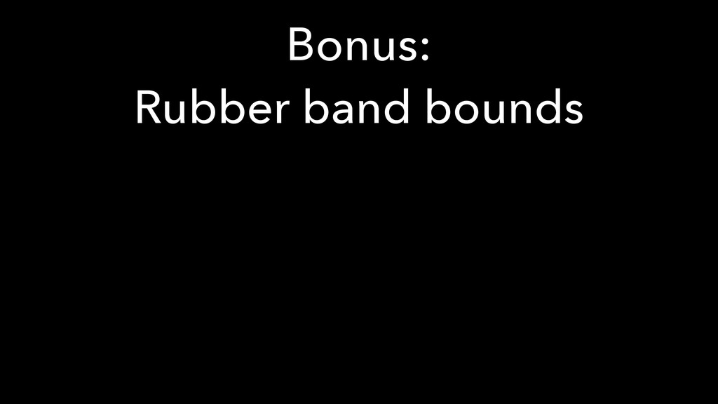 Bonus: 