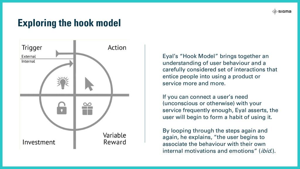 """Exploring the hook model Eyal's """"Hook Model"""" br..."""