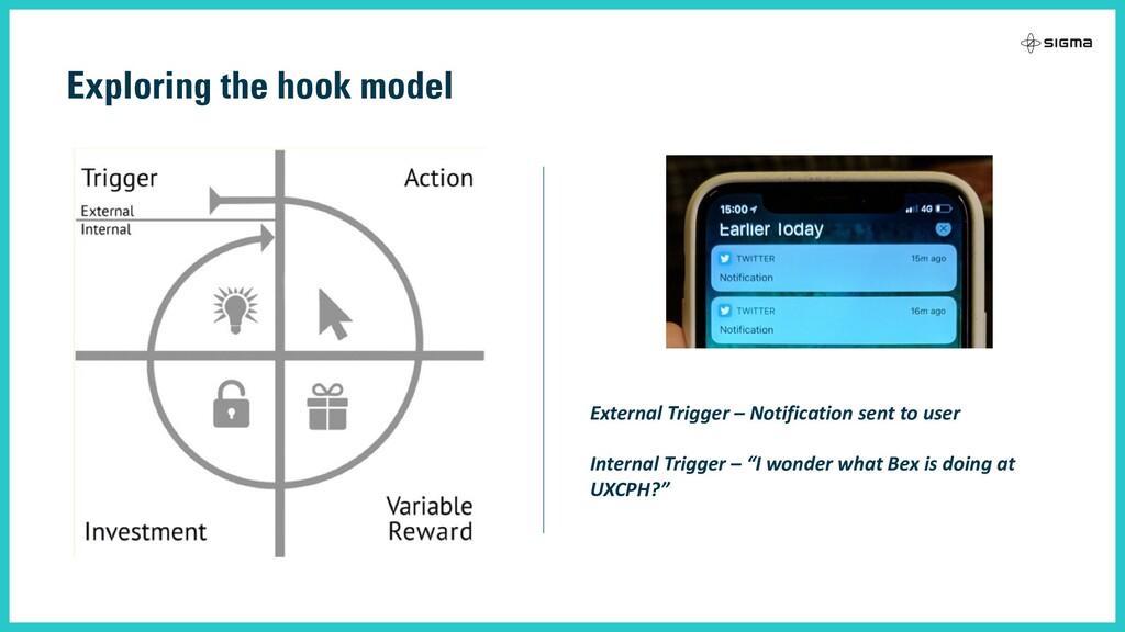 Exploring the hook model External Trigger – Not...