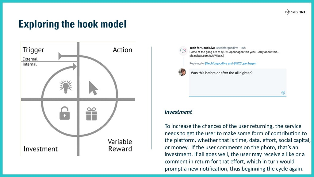 Exploring the hook model Investment To increase...