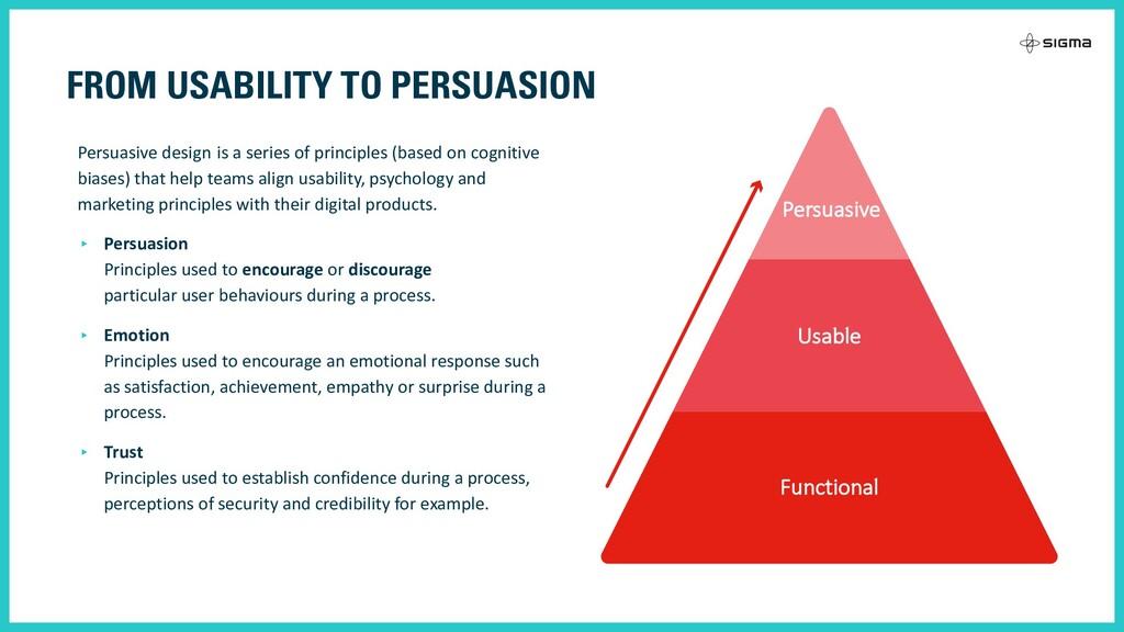 Persuasive design is a series of principles (ba...