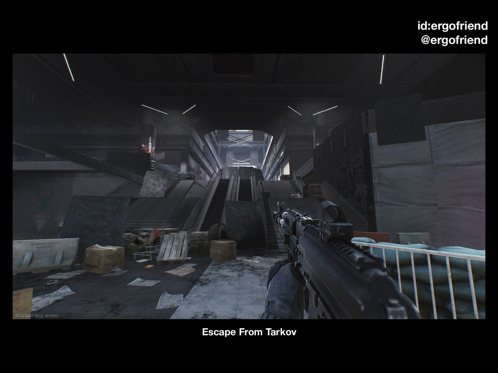 Escape From Tarkov id:ergofriend @ergofriend