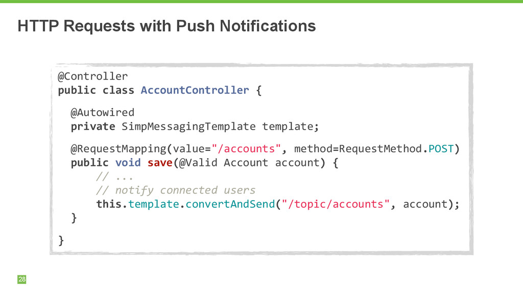 HTTP Requests with Push Notifications 28 @Contr...