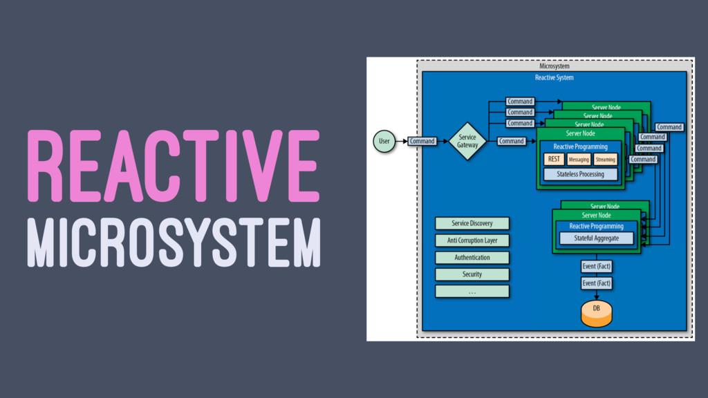 REACTIVE MICROSYSTEM