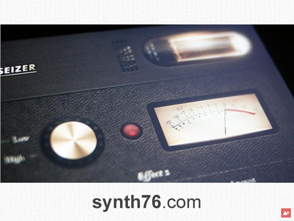 synth76.com