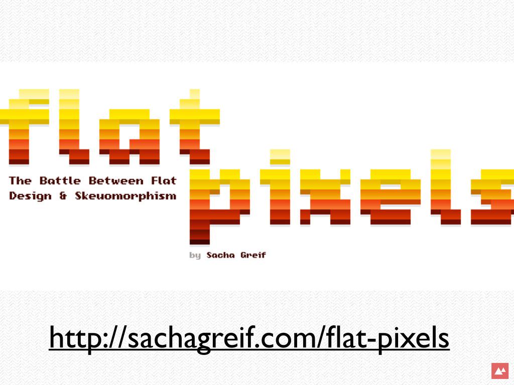 http://sachagreif.com/flat-pixels