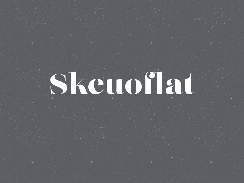 Skeuoflat